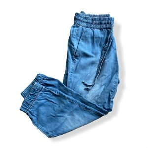 Blue Jean Confortable Joggers Like New